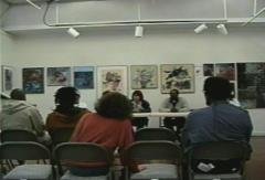 Kevin Myrick is among the panelists on an audio technology panel at the 1998 African American Multimedia Conference