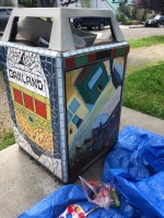 Mosaic Can (2019 Earth Day)